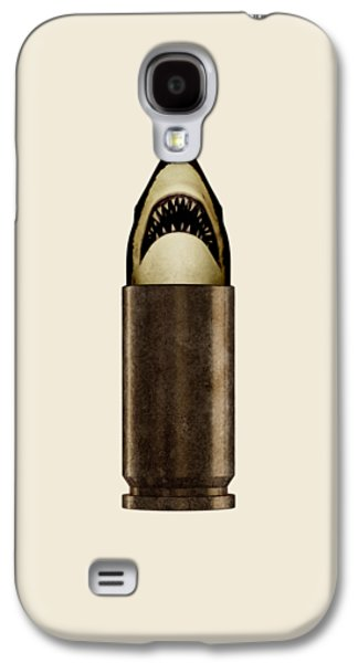 Shell Shark Galaxy S4 Case by Nicholas Ely