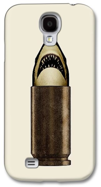 Bullet Galaxy S4 Cases - Shell Shark Galaxy S4 Case by Nicholas Ely