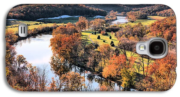 Autumn In The Country Galaxy S4 Cases - Shenandoah  Galaxy S4 Case by JC Findley