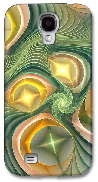 Galaxy S4 Cases - Shiny Geometry Galaxy S4 Case by Anastasiya Malakhova