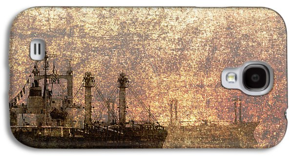 Useful Galaxy S4 Cases - Ship at Anchor Galaxy S4 Case by Skip Nall