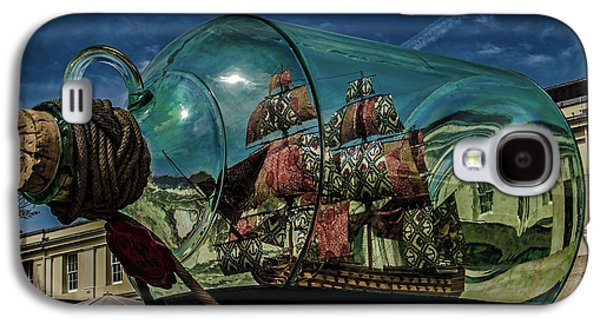 Ship In A Bottle Galaxy S4 Case by Martin Newman