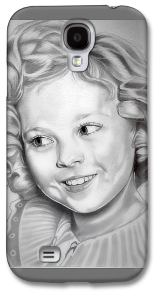 Shirley Temple Galaxy S4 Case by Fred Larucci