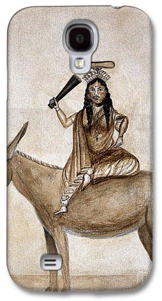 Shitala Mara, Hindu Goddess Of Smallpox Galaxy S4 Case by Wellcome Images