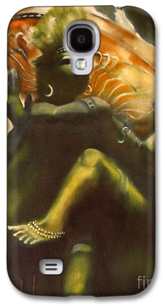 Wicca Paintings Galaxy S4 Cases - Shiva Galaxy S4 Case by Roger Williamson