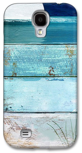 Beach House Galaxy S4 Cases - Shore and Moonrise Galaxy S4 Case by Mindy Sommers