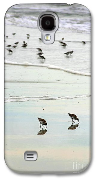 Plundering Plover Series 7 Galaxy S4 Case by Angela Rath