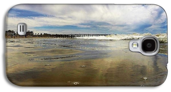 Abstracts Galaxy S4 Cases - Shoreline Galaxy S4 Case by Dan Holm