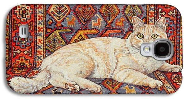 Persian Carpet Galaxy S4 Cases - Shortcake Galaxy S4 Case by Ditz