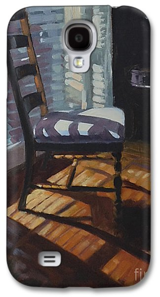 Ladder Back Chairs Galaxy S4 Cases - Shuttered Repose  Galaxy S4 Case by Nancy  Parsons