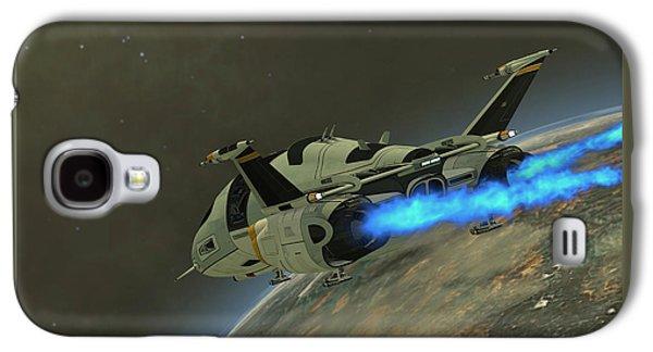 Shuttlestar Transport Galaxy S4 Case by Corey Ford