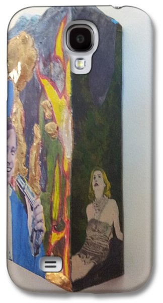 Person Galaxy S4 Cases - Side Show Beauty and the Beast Galaxy S4 Case by William Douglas