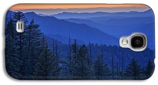 Sierra Fire Galaxy S4 Case by Rick Berk
