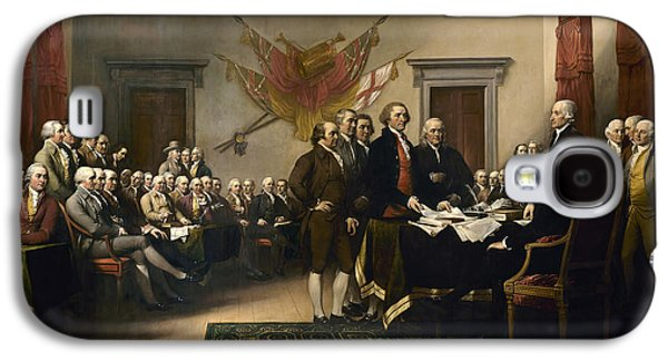 Signing The Declaration Of Independence Galaxy S4 Case by War Is Hell Store
