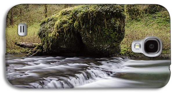 Silver Falls Rock And Rapids  Galaxy S4 Case by John McGraw