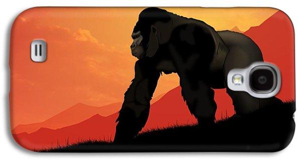 Silverback Gorilla Galaxy S4 Case by John Wills