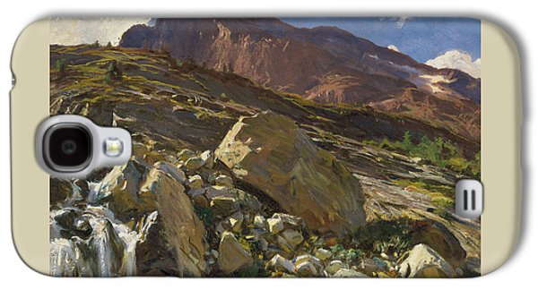Simplon Pass Galaxy S4 Case by John Singer Sargent