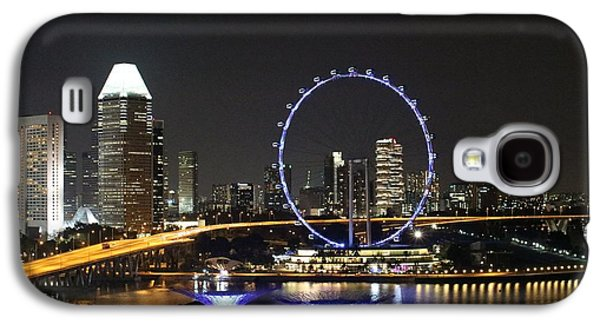 Buildings By The Ocean Galaxy S4 Cases - Singapore Eye Galaxy S4 Case by Diane Height