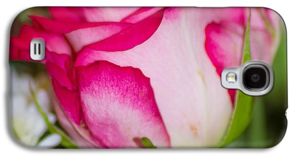 Cupid Galaxy S4 Cases - Single Rose Galaxy S4 Case by Martin Newman
