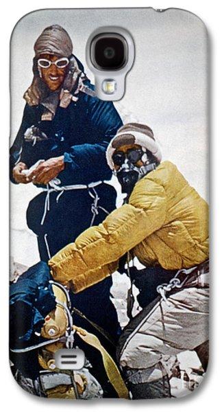 Exploration Galaxy S4 Cases - Sir Edmund Hillary Galaxy S4 Case by Granger