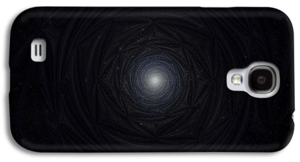Inner Self Galaxy S4 Cases - Sirius Star Light Rose Mandala Galaxy S4 Case by Michal Sornat