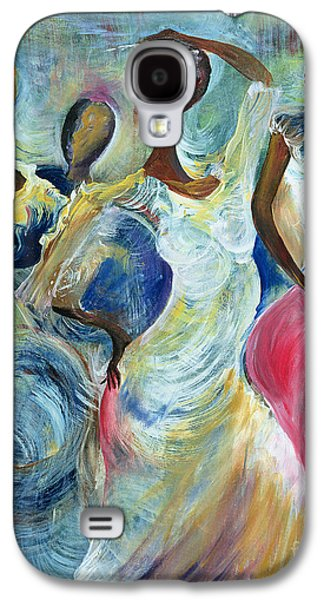 Sisters Galaxy S4 Cases - Sister Act Galaxy S4 Case by Ikahl Beckford