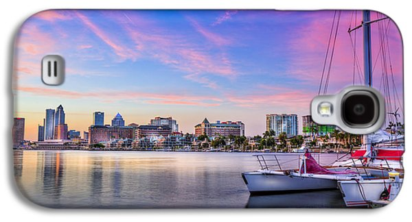 Sitting On The Dock Of The Bay Galaxy S4 Case by Marvin Spates
