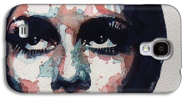 Twiggy Galaxy S4 Cases - Sixties Sixties Sixties Twiggy Galaxy S4 Case by Paul Lovering