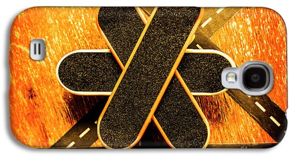Skateboarding Star Galaxy S4 Case by Jorgo Photography - Wall Art Gallery