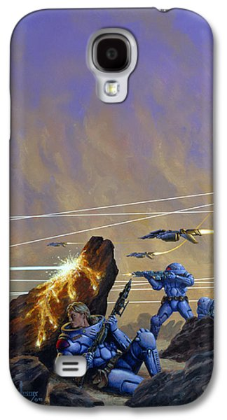 Skirmishers  Galaxy S4 Case by Richard Hescox