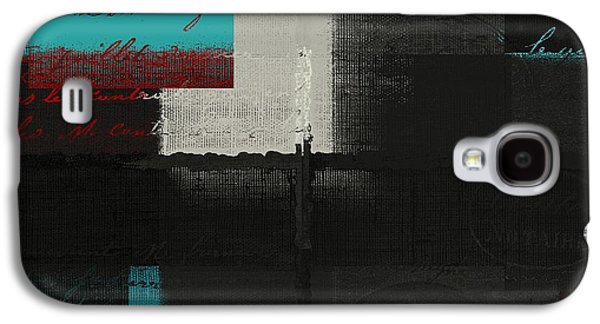 Red Abstracts Digital Galaxy S4 Cases - Skouarios 04bttx - j234143191-v2 Galaxy S4 Case by Variance Collections