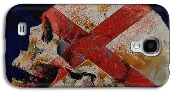 Trippy Paintings Galaxy S4 Cases - Inquisition Galaxy S4 Case by Michael Creese