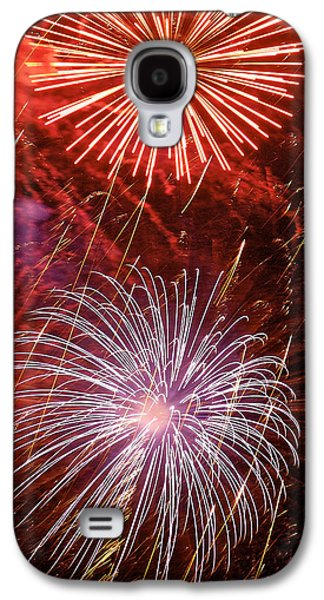 4th July Galaxy S4 Cases - Sky Explosion Galaxy S4 Case by Phill  Doherty