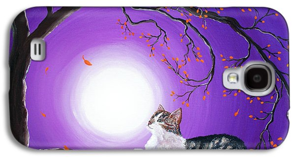 Gray Tabby Galaxy S4 Cases - Skye Galaxy S4 Case by Laura Iverson