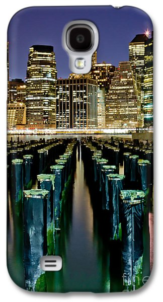 Midtown Galaxy S4 Cases - Skyline Perspective Galaxy S4 Case by Az Jackson