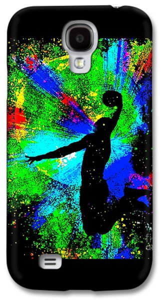 Dunk Galaxy S4 Cases - Slam Dunk Kobe Bryant Galaxy S4 Case by Saundra Myles