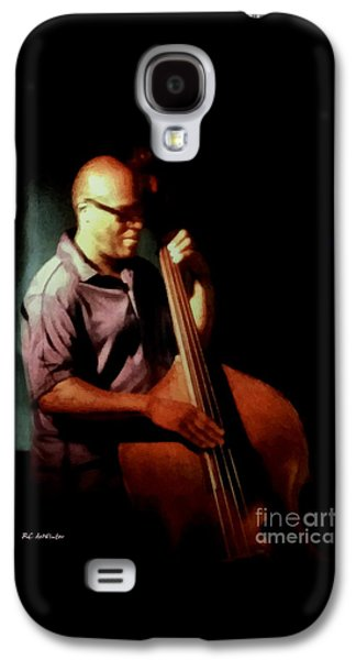 African-american Galaxy S4 Cases - Slapping the Strings Galaxy S4 Case by RC deWinter
