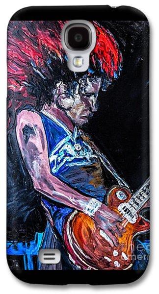 Slash Paintings Galaxy S4 Cases - Slash Galaxy S4 Case by Paula   Baker
