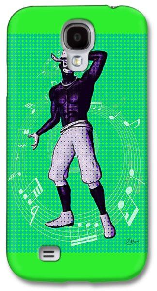 Hop Drawings Galaxy S4 Cases - Slave Jazz By Quim Abella Galaxy S4 Case by Joaquin Abella