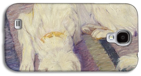 Sleeping Dog Galaxy S4 Cases - Sleeping Dog Galaxy S4 Case by Franz Marc