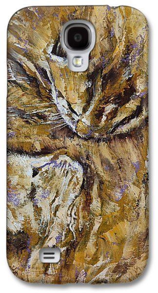 Sleeping Kittens Galaxy S4 Case by Michael Creese