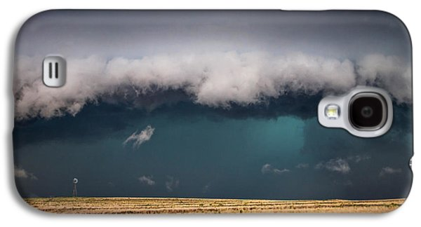 Storm Prints Photographs Galaxy S4 Cases - Small Galaxy S4 Case by Sean Ramsey