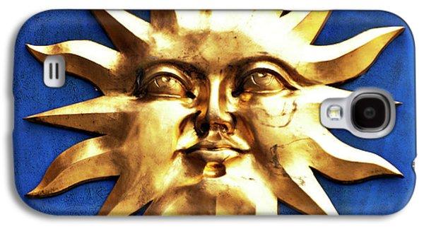 Sun Galaxy S4 Cases - Smiling Sunshine Galaxy S4 Case by Meirion Matthias