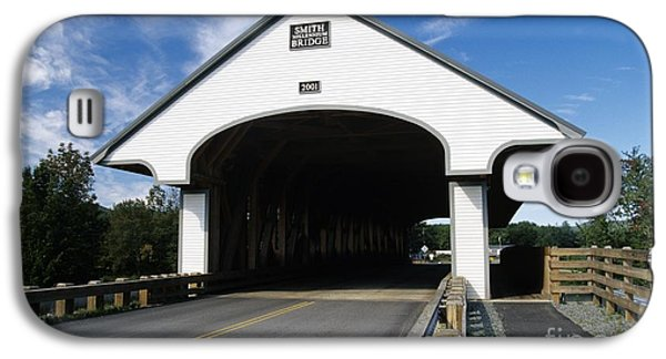 America Photographs Galaxy S4 Cases - Smith Covered Bridge - Plymouth New Hampshire USA Galaxy S4 Case by Erin Paul Donovan
