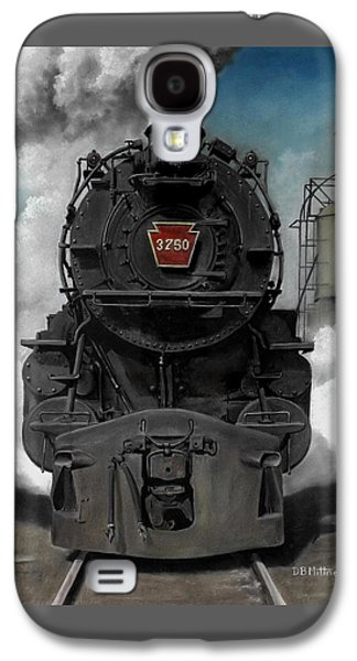 Smoke And Steam Galaxy S4 Case by David Mittner