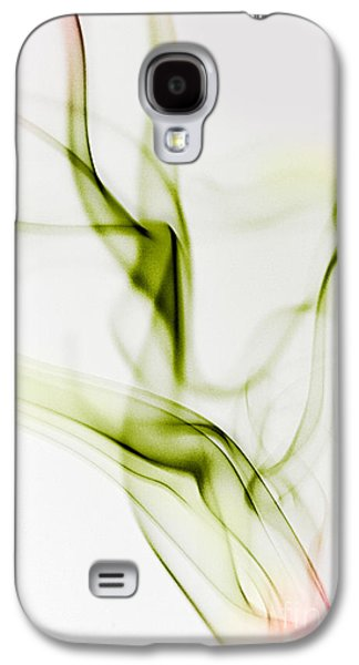 Dragon Photographs Galaxy S4 Cases - Smoke Wings Galaxy S4 Case by Nailia Schwarz