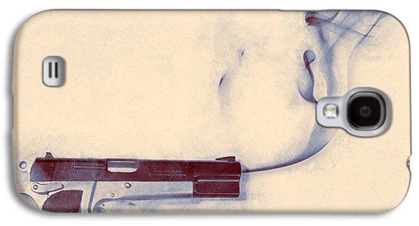 Smoking Gun Galaxy S4 Case by Scott Norris