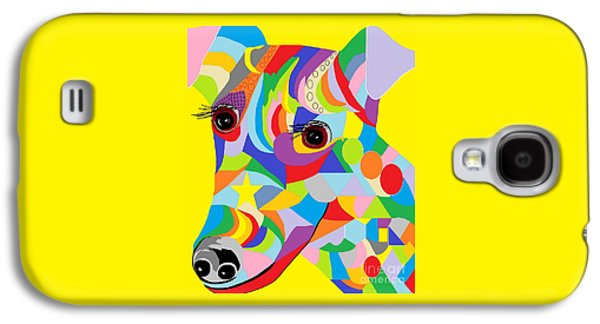 Puppy Digital Galaxy S4 Cases - Smooth Fox Terrier Galaxy S4 Case by Eloise Schneider