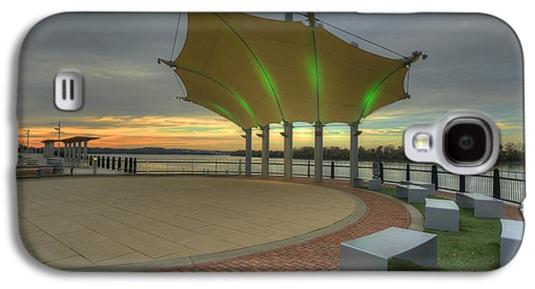 Smothers Park Band Shell Galaxy S4 Case by Wendell Thompson