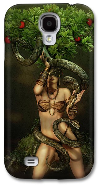 Snake Charmer Galaxy S4 Case by Shanina Conway